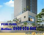 Bán office hạng A Pearl Plaza mới 100%, tầng cao, 2100$/m2 -Hotline CĐT: 0908 078 995
